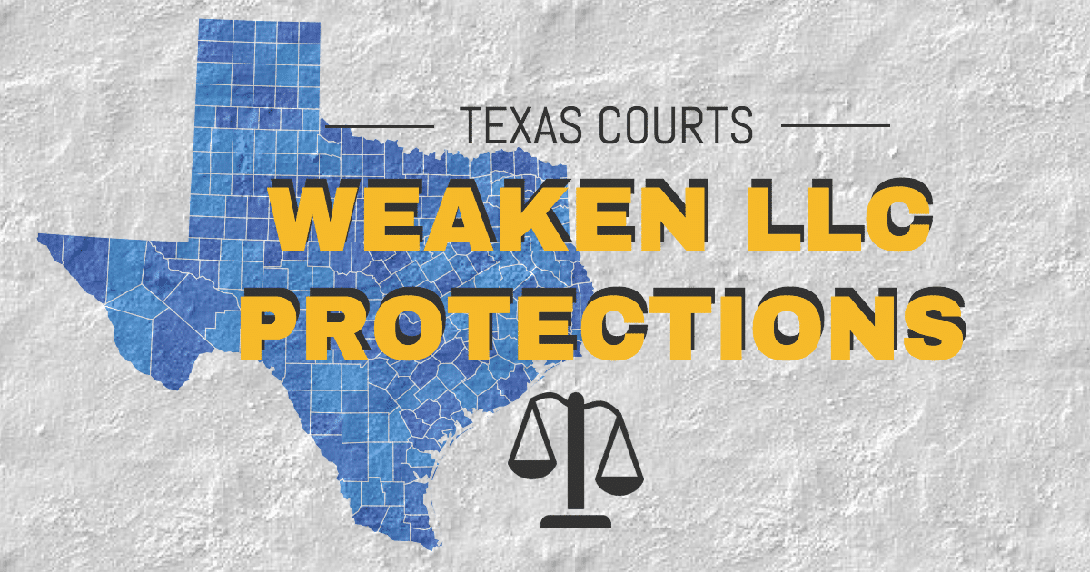 Texas LLC Court Case